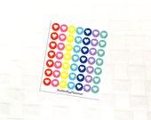 Heart Mutlicolor Icon Stickers