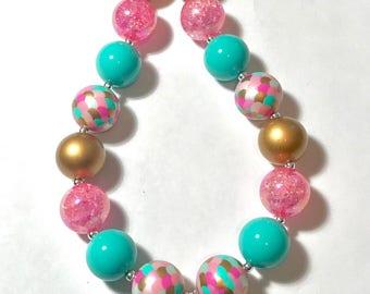 Mermaid Bubblegum Necklace