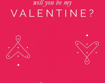Will You Be My Valeninte (e-card)