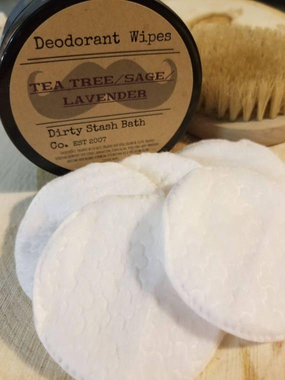 Organic Deodorant Wipes-Refresh On The Go-Cedarwood  Birch