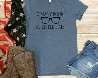 Book Lovers T-Shirt, Graphic Tee, Books