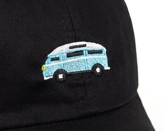 Road Trip Bus Embroidedry - Baseball Dad Cap