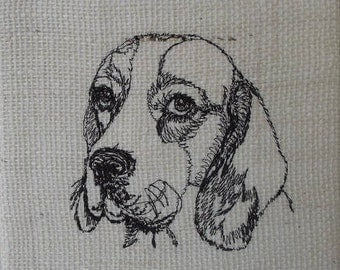 Embroidered Dog images