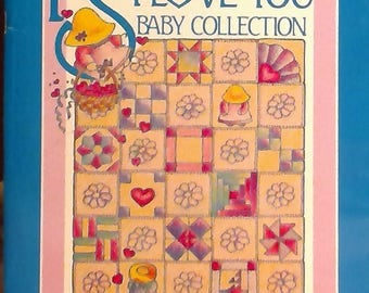 PS I Love You baby quilt pattern book 17 designs