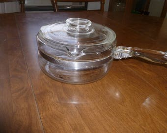 Glass Cooking Pot with Lid