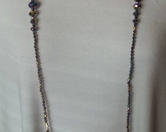 Two for one - long beaded necklaces
