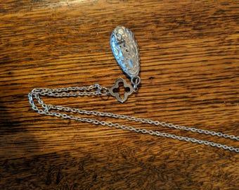 Silver Teardrop Pendant