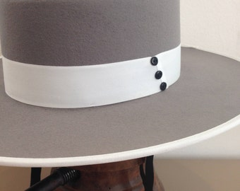 Bolero Hat, Spanish style hat, Wool felt