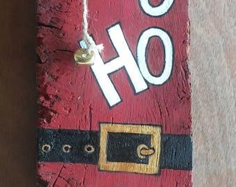 Ho, Ho, Ho, Christmas Sign