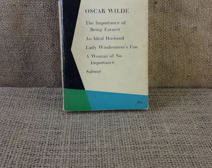 Vintage Penguin plays, Oscar Wilde from 1960, The Importance of Being Earnest, An Ideal Husband, Lady Windermer's Fan, Salome, A Woman of No