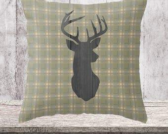 Home Decor Pillows, Farmhouse Decor, Pillow, Farmhouse, Throw Pillow, Rustic Decor, Decorative Pillow: Four Sizes, Four Colors