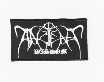 Ancient Wisdom embroidered patch black Metal astral threads