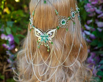 Forest Butterfly Circlet
