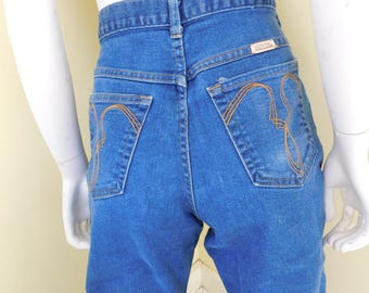 Vintage, Women's, High Waisted, Made in USA, SHEPLERS, Size 33
