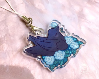 Blackbird at Midnight Charm