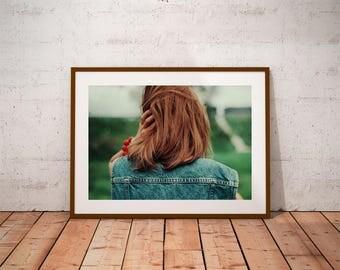 woman portrait, portrait photography, hair photos, canvas photo prints, wall art decor, fine art photography, eye poetry photography