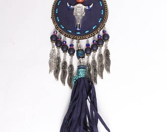 Rodeo Style Long Necklace.