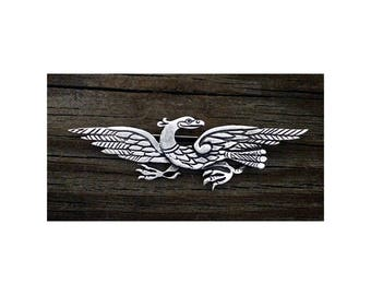 TC106.0276P - Pewter Celtic Eagle or llar Brooch in Pewter
