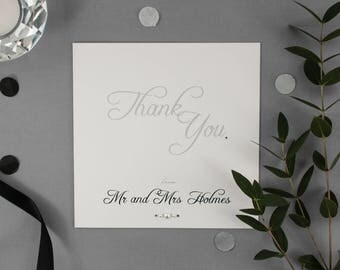 EMMA // Wedding Stationery // Thank You Card