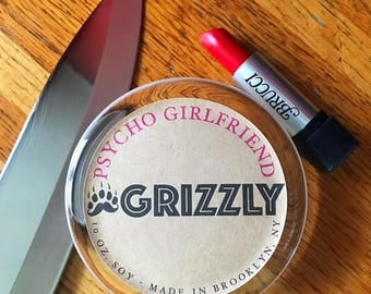 PSYCHO GIRLFRIEND - 10 oz. Scented Soy Candle