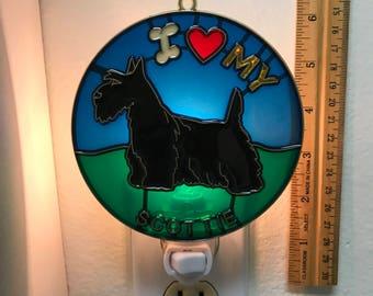 Scottish Terrier Night Light
