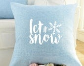 Let It Snow | Pillow Cover