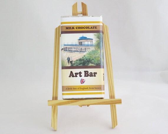 Eastbourne Bandstand Art Bar, Milk Chocolate 100g