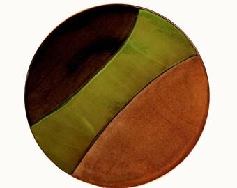 Ceramic platter, large platter, serving platter, handmade platter, stoneware