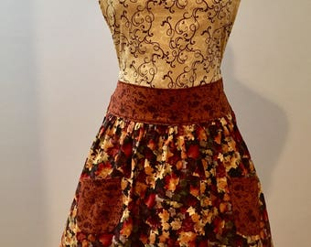 Fall Leaf Apron