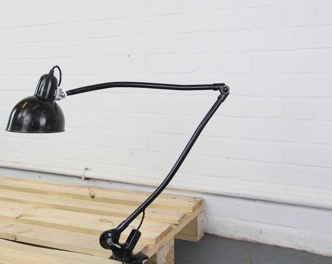 Kaiser Idell Model 6726 Industrial Task Lamp Circa 1930s