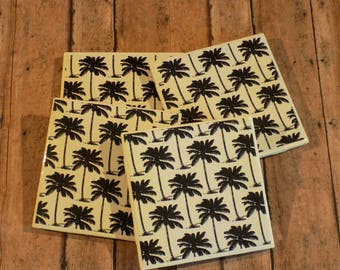 Palm Tree Coasters / Drink Coasters