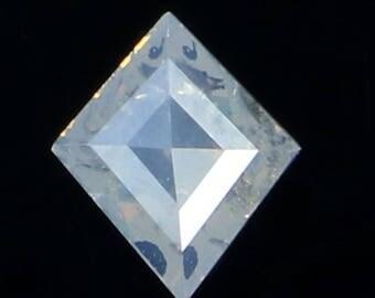 0.28 Ct Natural Loose Diamond Kite Shape White Milky Color 5.80X5.00X2.00 MM L7805