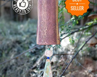 Top Selling Birthday Gift For Her Wind Chimes Most Sold Items Sold Most Handmade Best Seller Gift Garden Art Decor Copper Windchimes