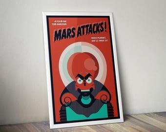 Mars Attacks Poster Print