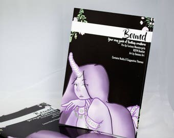 NSFW Fantasy GirlsArt Booklet - Bound