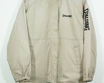 Vintage 90's Spalding Outdoors Hooded Jacket Size Large L / Spalding Jacket