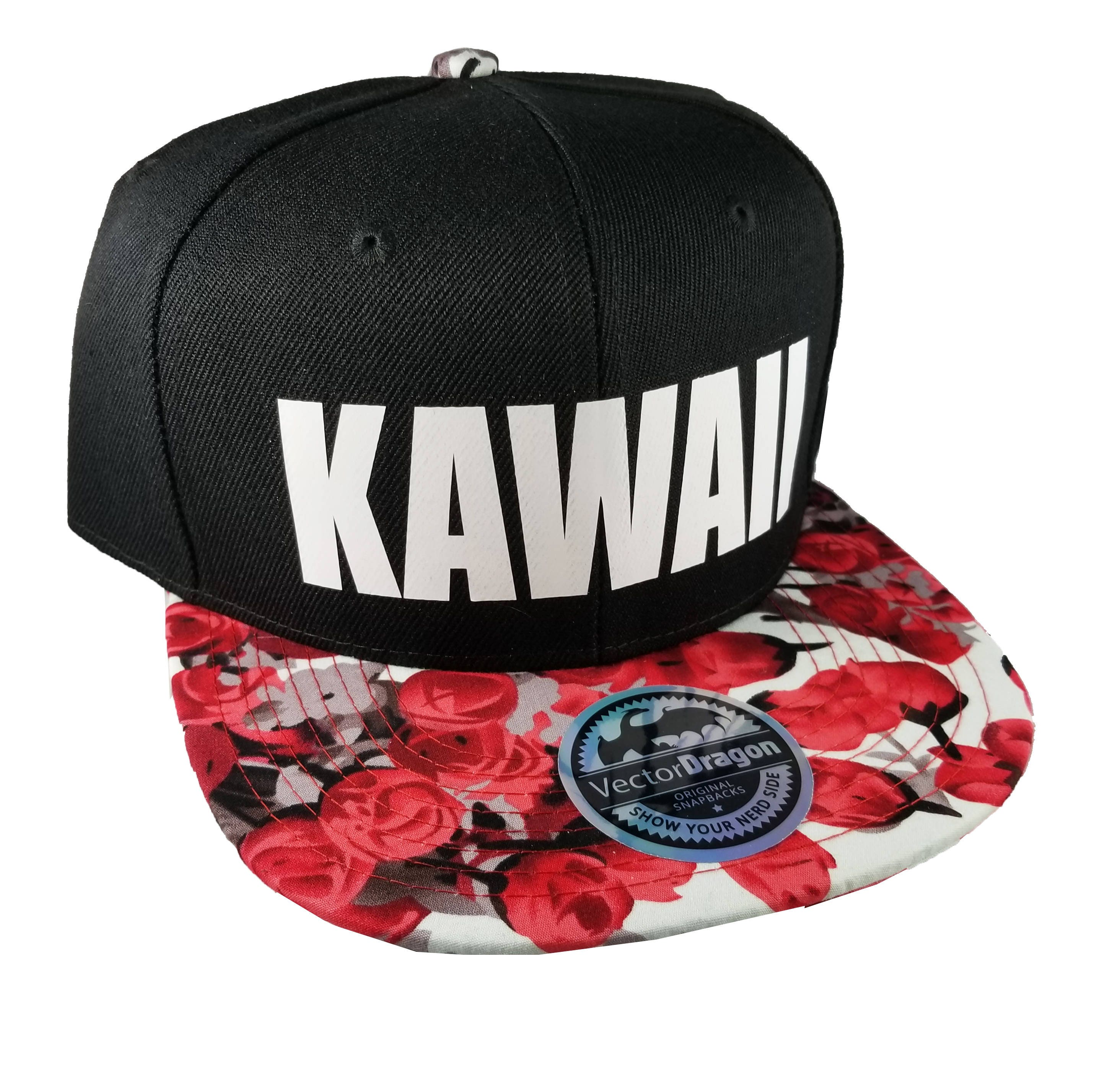 Kawaii Rose Fleur Snapback Casquette Casquette