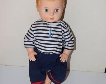 "Sailor Boy Doll from France 15"""