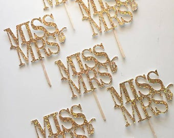 Miss to Mrs Cupcake Toppers (12)