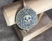 Large Skull Disk Bangle Gasparilla Buccaneers Pirate Bracelet