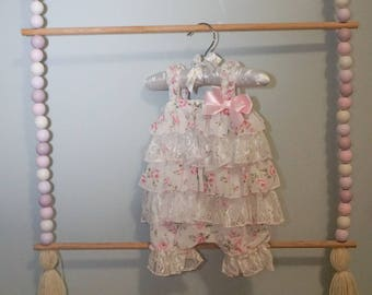 A Beaded Hanging Rack for Kids Room or Nursery