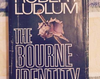 Vintage Robert Ludlum Bourne Identity Vintage Book Robert Ludlum 1980 Spy novel