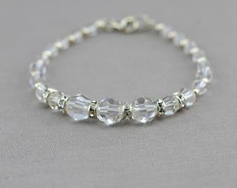 MIA   Crystal Bridal Bracelet, Bridal Cuff, Wedding Bracelet