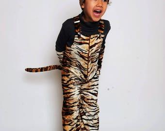 Tiger pants, predator pants, tiger costume, tiger costume, halloween