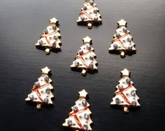 Christmas Tree Floating Charm for Floating Lockets-Gift Idea for Women