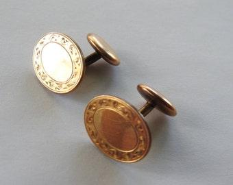 Antique Hayward Gold Filled Cufflinks