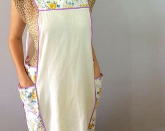 Adorable Purple Smock with Pockets