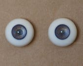 16mm Moonteahouse (Mth) Eyes - Handmade Blue / Gold Resin Eyes for BJD, ABJD and Dolls [17081]