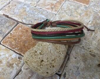 Hemp Bracelet, Vegan Jewellery, Hemp Cord Bracelet, Vegan Bracelet, Hemp Jewelry, Gifts Under 10 Made Well, Priced Right HB-32