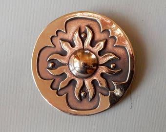 Persian Shield - Brooch and Pendant